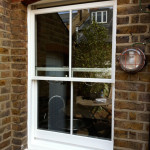 Sash and Case Windows Painted in Swanston
