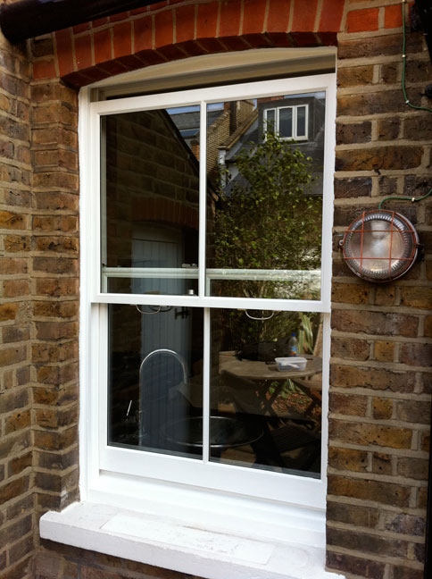 Painter and Decorator Edinburgh Sash and Case Window 2