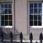 Sash and Case Windows Painted in Regent Terrace