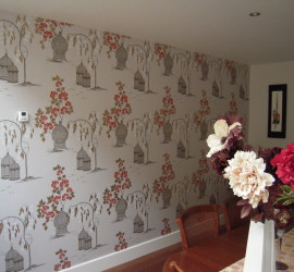 Painter and Decorator Edinburgh Wallpapering