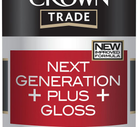 Crown Trade Water Based Gloss Plus